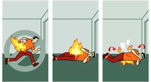 roupa incendio
